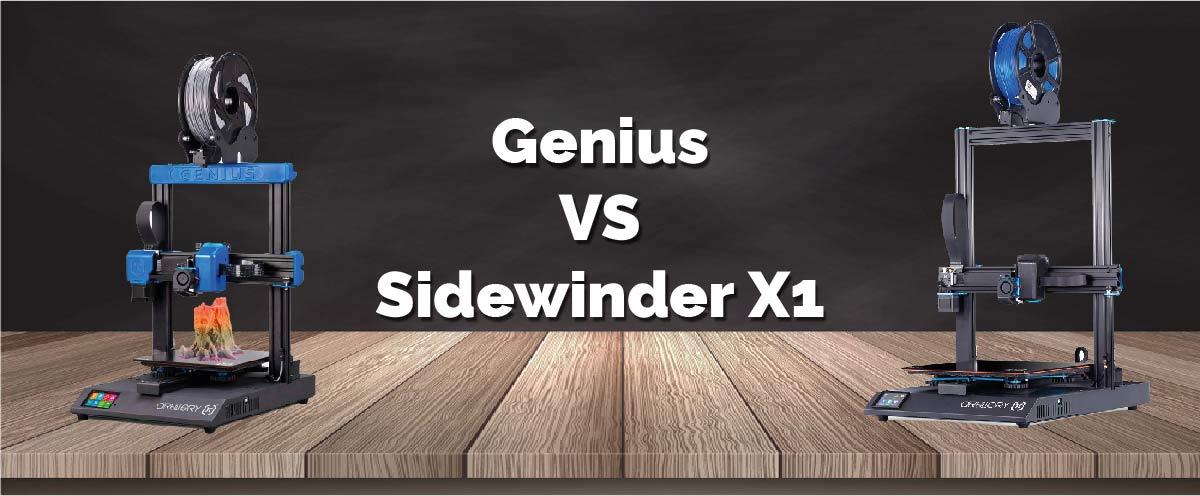 Diferencias Artillery Genius y Sidewinder