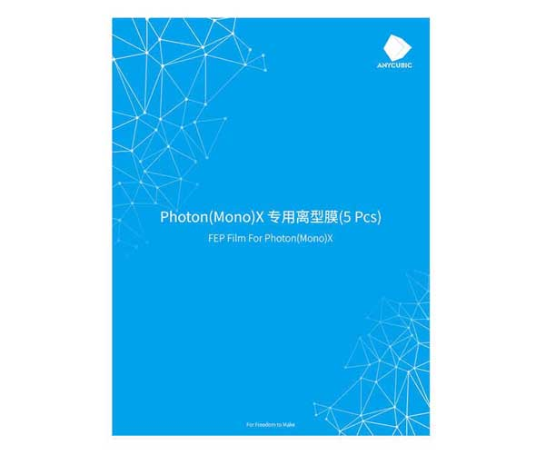 impresoras 3d, pelicula FEP, anycubic, photon mono, accesorios, inovamarket, xmarket